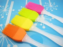 Wholesale BBC Silicone Brush Color Option Hot Selling Cookware Bakeware Barbecue Baking Basting Pastry Brush For BBC KitchenTools