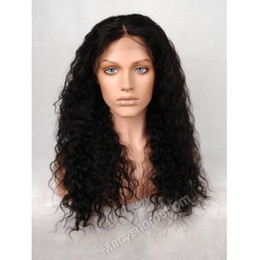 New arrival brazilian human hair fulll lace wigs water wave natural hairline front lace wigs with baby hair