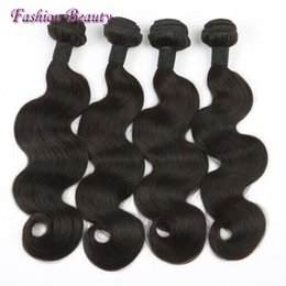 Malaysian Hair Weft Best Human Hair 100% Unprocessed Body Wave Double Weft Hair Weaves