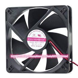 Wholesale Brand new COOLERSPIRITER mm mm mm cm cooling fan SDT1212MSNP with DC socket Rifle bearing