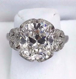 Wholesale 5 Carats t w Antique Wedding Diamond Ring Carats H VVS1 GIA Certificate