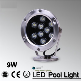 IP68 LED fountain light LED pool light Led underwater light, piscina , 9W 12VAC Led landscape spot lamp LPL-A-9W-12V
