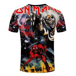 Promotion shirt de douille d'impression des animaux gros T-shirts manches courtes à manches courtes imprimé 3d T-shirts manches longues à manches courtes