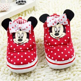 Baby first walkers shoes baby sport shoes cotton shoes cartoon bear shoes color red size 11-13cm 2016 kids shoes children shoes.2172