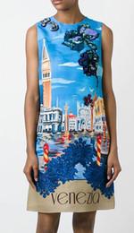 Fashion Print Women Sheath Dress Sequins Mini Dresses 065A811