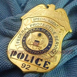 Wholesale U S Federal Protection Agency FPS agent Agent Special metal badges