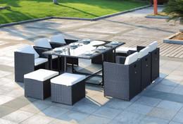 Wholesale dining table chair hotel furniture PE rattan wicker sofa set wicker furniture Garden patio furniture indoor furniture kitchen furniture set