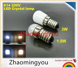 Wholesale YON New Product E14 W W Refrigerator LED lighting mini bulb AC220V V Bright indoor lamp for Fridge Freezer