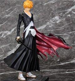 Wholesale Anime BLEACH Kurosaki ichigo Death PVC Action Figure Model Collection Toys Gift cm