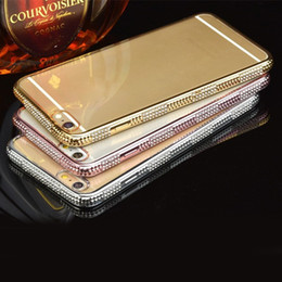 Clear Cell Phone Cases Transparent Gold Rhinestone with Soft TPU Phone Covers for Xiaomi 5 note2 28