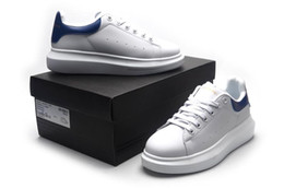 Wholesale ALEX QUEEN Fashion Woman casual shoes flat white leather outdoor sneakers QUEEN cheap sale SZ