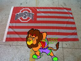 100% polyester 90*150cm, Ohio State University banner,Digital Printing,us Florida University logo