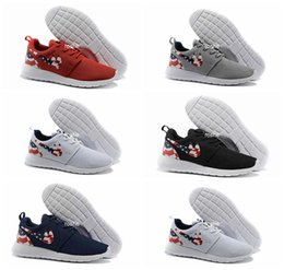 Wholesale Classical Roshe Run USA American Flag Running Shoes For Men Women Lightweight London Olympic Oreo Roshes Run Sport Trainers Eur