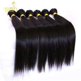 Malaysian Straight Virgin Hair 100% Human Hair Weave Bundles 3 4 5Pcs Unprocessed Malaysian Remy Human Hair Extensions Natural Color Dyeable