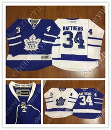 Wholesale 2016 New Men s Toronto Maple Leafs Ice Hockey Jerseys Cheap Auston Matthews blue white Jersey Authentic Stitched Jerseys Mix Order