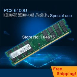 Wholesale New GB PC2 DDR2 pin DIMM Desktop Memory For A M D CPU only by