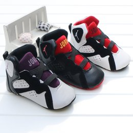 Wholesale Baby kids letter First Walkers Infants soft bottom Anti skid Shoes Winter Warm Toddler shoes colors C1554