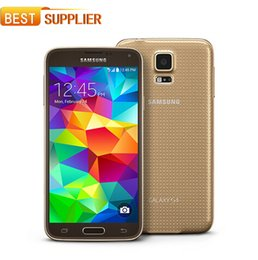 Free DHL Hot Sale Smartphone Original Unlocked Samsung Galaxy S5 i9600 Quad-core 3G&4G 16MP Camera GPS WIFI CellPhone