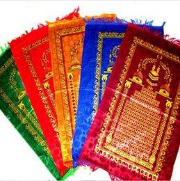 Wholesale Praying carpet muslim prayer mat Prayer Rug PVC Carpet