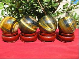 Wholesale Natural Rainbow TIGEREYE SPHERE CRYSTAL BALL TIGER EYE Healing MM MM