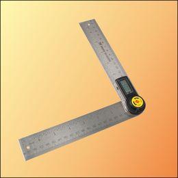 Wholesale In mm Degree quot Digital Display Goniometer Angle Finder Meter Protractor Finder Miter Gauge