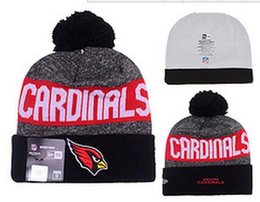 Wholesale 2016 football Cardinals Arizona beanies Winter High Quality Beanie For Men Women Skull Caps Skullies Knit Cotton Hats