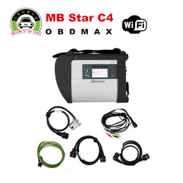 Wholesale MB Star C4 New Compact SD C4 Version support over languages SD Connect C4 with WIFI MB Diagnostic tool for Benz