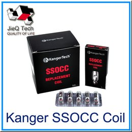 KangerTech SSOCC Vertical Coil Atomizer head 0.5ohm 0.15ohm 1.2ohm for Subtank Plus Subtank Nano NEBOX Topbox
