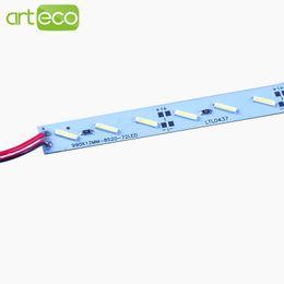 10pcs * 0.5m SMD 8520 LED Bar light DC12V 50cm 36 leds LED Hard Rigid light For Cabinet Jewelry etc.free shipping