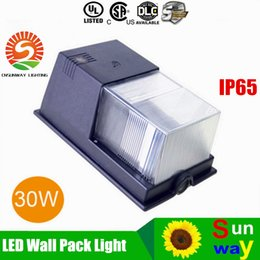 Wholesale Outdor Lighting W W W Wall Pack Led With IP65 Waterproof Mini LED Wall Pack Wall Mount Led Lights AC V UL DLC