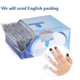 Wholesale 200 x Nail Art Soak Off Remover Polish Acrylic Removal Foil Wraps