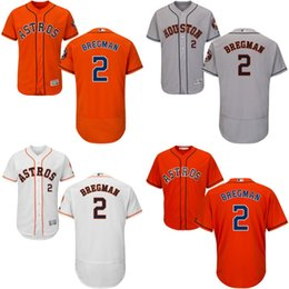 Wholesale Cheap MEN Houston Astros Jersey Alex Bregman Baseball Jersey Embroidery Logos stitched size S XL
