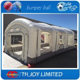 Wholesale mH inflatable car tent inflatable paint spray booth