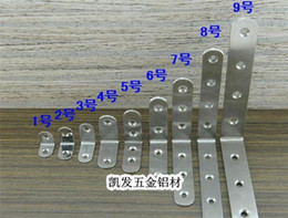 Wholesale Door Hardware Non agnetic Stainless Steel Thick Connector Bracket Plate Frame Thick Lamination Angle Extension Furniture Door Hardwear