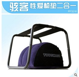 Wholesale TOUGHAGE Loving Bouncer Sex Chair Trampoline Sex Magic Cushion Sex Furnitures For Couple Adult Sex Toys Express free shiping
