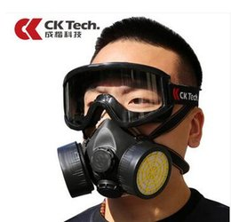 Wholesale Gas mask spray dust mask protection of formaldehyde smoke and chemical industry special mask for pesticide