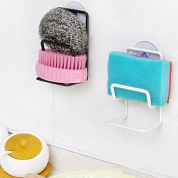 Wholesale Kitchen Organizer Rack Sink Storage Draining Sponge Holder Suction Cup Tool