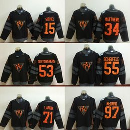 Wholesale North American Team Jersey World Cup of Hockey MATTHEWS EICHEL LARKIN SCHEIFELE McDAVID GOSTISBEHERE Jerseys Cheap