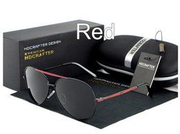 Anti-Glare Brand Polarized Sunglasses Mercury coated anti reflection Aluminum magnesium alloy frame outdoor fishing Driving Glasses E014