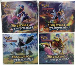 Wholesale Retail Copy Lastest Edition XY Trading Cards English Anime Pocket Monsters Cards Toys For Children Toys Christmas Gifts