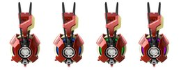 Wholesale HPE lue IRON MAN THS901 Collection Limited Edition Over Ear USB Surround Gaming Headset for PC