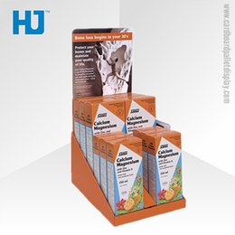 Wholesale Price competitive cardboard counter top display box for retail store