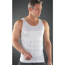 Men sexy Body Shapers with box Underwear Slimming Shirt Body Shapewear Elimination Sexy Girdles Of Male Beer Belly free ship