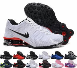 Wholesale 2016 New Shox NZ Men And Women Running Shoes Cheap Fashion Sneakers Shox NZ Current Top Quality Sport Shoes Size