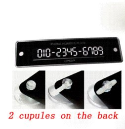 Wholesale Original phone number plate for your advanced auto essential for temporary parking phone head phones with sim cards