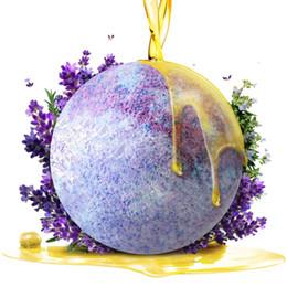 Wholesale Bath Salt Ball Natural Bubble Bath Ball Bath Bomb g oz Essential Oil Handmade Bath Balls SPA Bath Bomb Bath Accessories