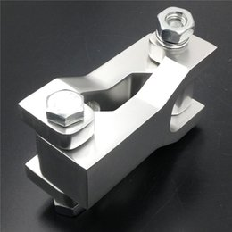 Wholesale Aftermarket motor parts for Honda TRX R Yamaha YFZ450 Yamaha Raptor Silver Front quot Lowering Kits chromed