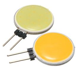 Meilleure promotion G4 COB DC12V 4W 5W 7W 12W blanc pur chaud LED 15 18 30 63 Chips Remplacer la lampe halogène spot ampoule à partir de g4 blanc bulbe fabricateur
