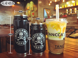 Wholesale Christmas gifts Skull coffee cup stainless steel ring pull cans creative skull mugs skeleton tumblers closters for beer juice coffee