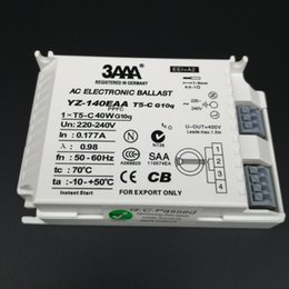Wholesale AC Electronic Ballast For T5 Ring Lamp Standard Rectifiers YZ140EAA T5 C W CB SAA Certificate